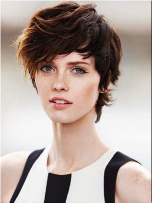 coupe de cheveux courts 2014