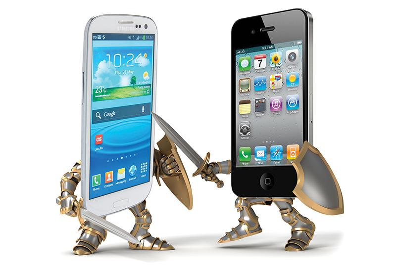 guerre smartphones